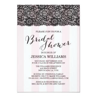 Lace Bridal Shower Invitation
