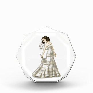 Lace Bride Acrylic Award