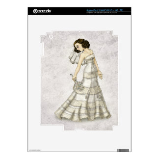 Lace Bride Decal For iPad 3