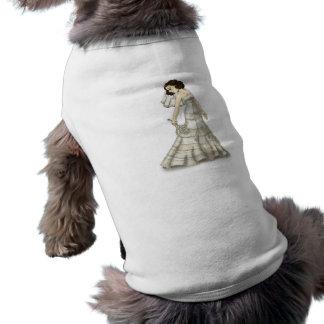 Lace Bride Doggie Tshirt