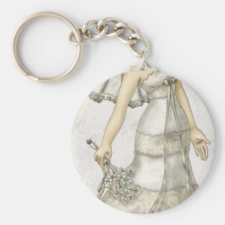 Lace Bride Keychain