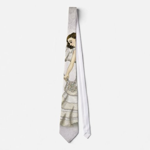 Lace Bride Neck Tie