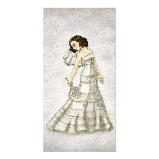 Lace Bride Photo Card