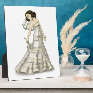 Lace Bride Plaque