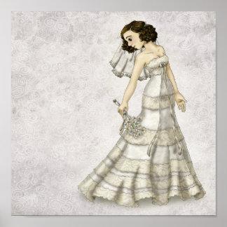 Lace Bride Poster
