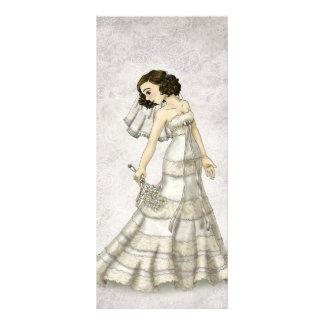 Lace Bride Rack Card