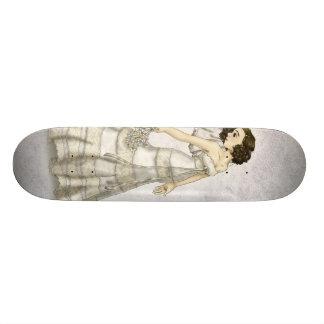 Lace Bride Skate Board Deck