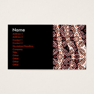 lace business card