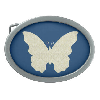 Lace Butterfly Belt Buckle