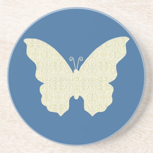 Lace Butterfly Coaster