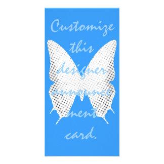 Lace Butterfly Tale Card