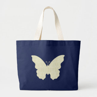 Lace Butterfly Tote Bag