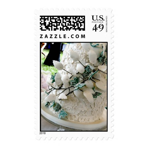 Lace cake postage