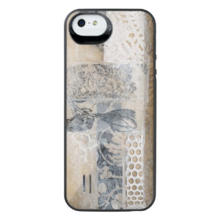Lace Collage I iPhone SE/5/5s Battery Case