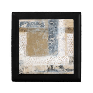 Lace Collage II Jewelry Box