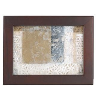 Lace Collage II Keepsake Box