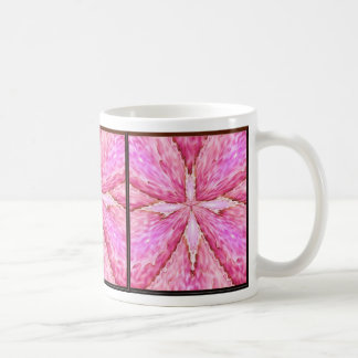 Lace Cross with Hearts of Light Mug