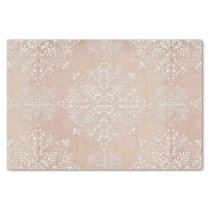 Lace Damask Diamond Pattern Tissue Paper