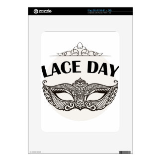 Lace Day - Appreciation Day Decal For The iPad