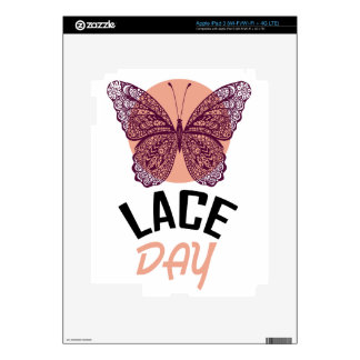 Lace Day - Appreciation Day iPad 3 Skins