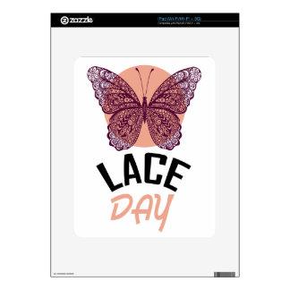 Lace Day - Appreciation Day iPad Skin