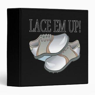 Lace Em Up 3 Ring Binder