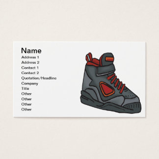 Lace Em Up Business Card