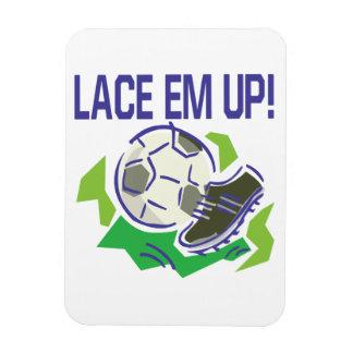Lace Em Up Magnet
