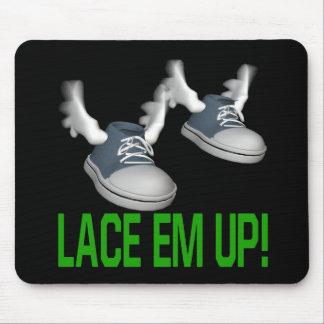 Lace Em Up Mouse Pad