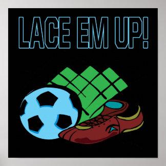 Lace Em Up Print