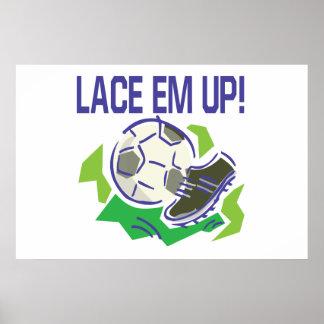 Lace Em Up Poster