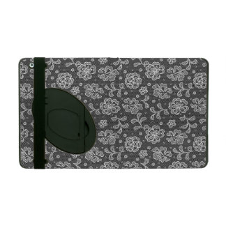 Lace fabric pattern 1 iPad cases