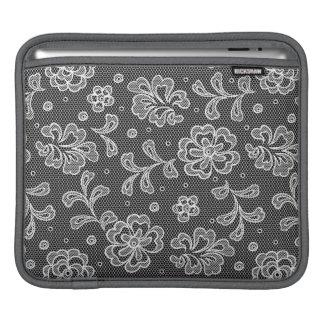 Lace fabric pattern 1 iPad sleeve