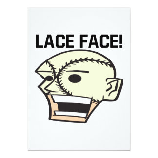 Lace Face Card