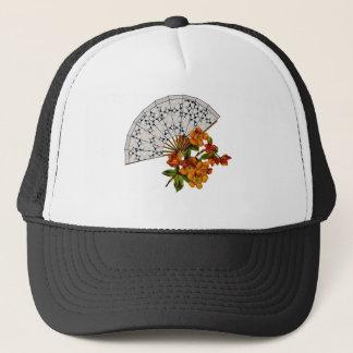Lace Fan - Vintage Makeover Trucker Hat