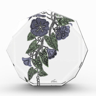 Lace Flowers 2 Acrylic Award