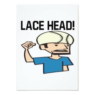 Lace Head Card