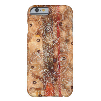 Lace Henna Barely There iPhone 6 Case