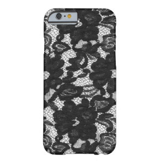 Lace iPhone 6 4 Cover Black Barely There iPhone 6 Case