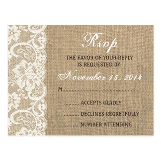Wedding RSVP Postcards, Wedding RSVP Post Cards