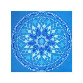 Lace Mandala Canvas Print