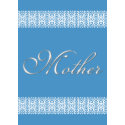 Lace Mother's Day card