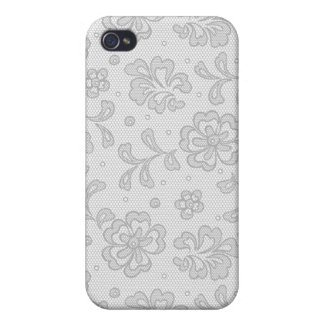 Lace pattern, flower vintage 1 case for iPhone 4