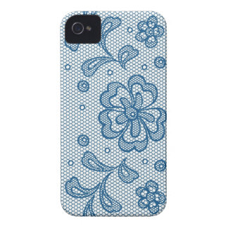 Lace pattern, flower vintage 2 Case-Mate iPhone 4 case