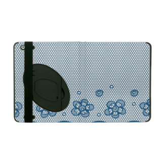 Lace pattern, flower vintage 2 iPad cover