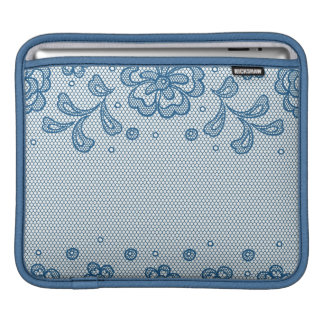 Lace pattern, flower vintage 2 sleeve for iPads