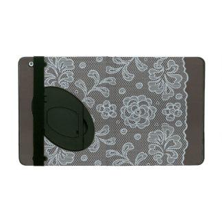 Lace pattern, flower vintage 6 iPad case