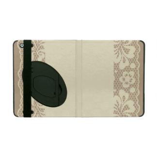 Lace pattern, flower vintage 7 iPad case