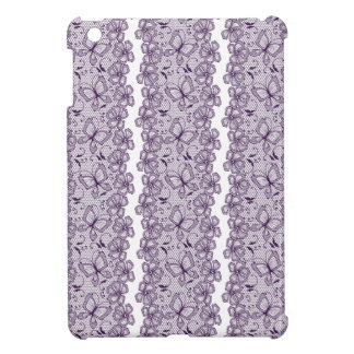 Lace pattern with butterflies case for the iPad mini