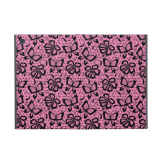 lace pattern with butterflies iPad mini case